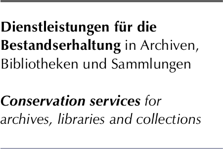 Dienstleistungen für die